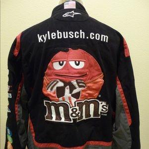 JH Design Kyle Busch M&M's NASCAR 3XL Jacket